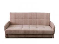 Диван Галант Д3 с узкими подлокотниками Атриум 5 бежево-розовый