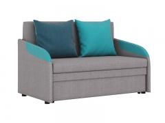 Диван-кровать Громит арт. ТД-133 кварцевый серый