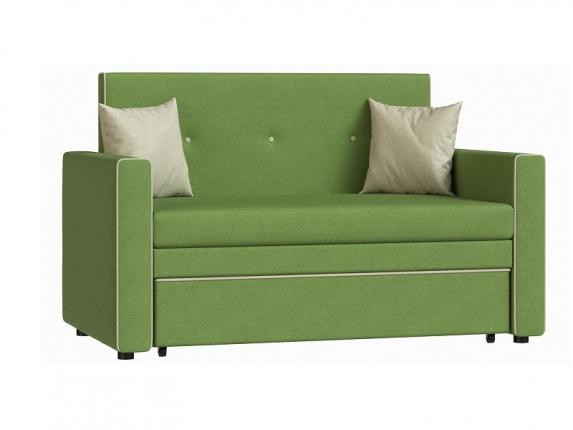 Диван-кровать Найс 120 арт. ТД-276 лиственный зеленый