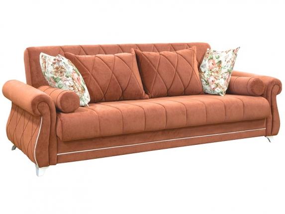 Диван-кровать Роуз арт. ТД-118-1 лососевый