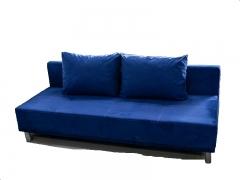 Диван Соната 2ЕК Эконом тип 3 Bora 06 синий