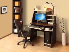 Компьютерный стол Интел 17 Бодега темный-Бодега светлый