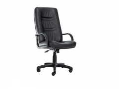 Кресло для руководителя Minister PLN PU01 черное