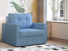 Кресло-кровать Лео арт. ТК-348 светлый деним