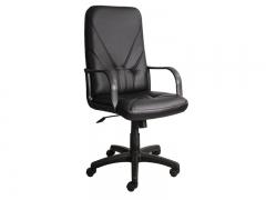 Кресло офисное Manager DF PLN PU01 экокожа черная