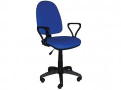 Кресло офисное Престиж Люкс gtpPN S6 ткань синяя