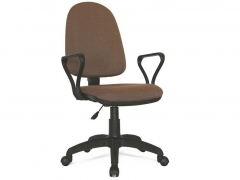 Кресло офисное Престиж Люкс gtpPN S9 ткань коричневая