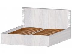 Кровать 1600 с ПМ Ривьера анкор светлый