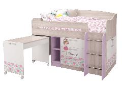 Кровать-чердак малый Адель
