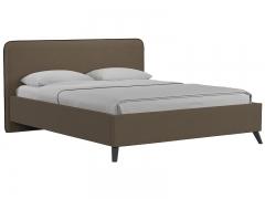 Кровать двуспальная Миа ореховый коричневый