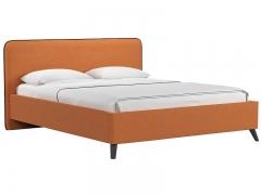 Кровать двуспальная Миа тыквенный