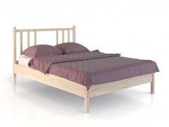 Кровать из дерева Карелия МС-21-1 на 1400