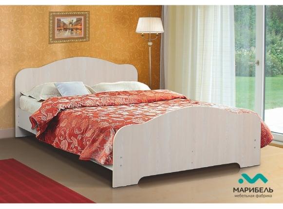 Кровать Марибель двойная ЛДСП 1600х2000