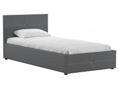 Кровать односпальная Синди 90 с подъемным механизмом серый