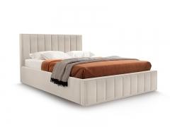 Кровать Вена вариант 2 Бежевый велюр