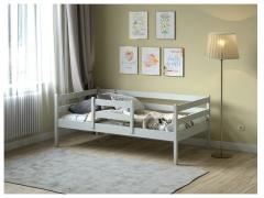 Кровать Viki VK-11С Серый
