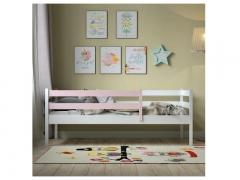 Кровать Viki VK-3-33 БР Бело-розовый