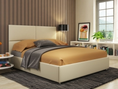 Кровать Жасмин Экокожа Ideal 302