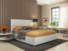 Кровать Жасмин Экокожа с подъемным механизмом