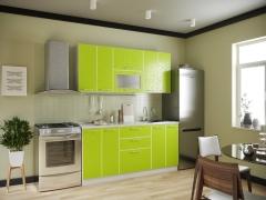 Кухня Магнолия Лайм 1800