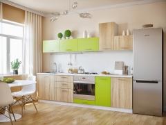 Кухня модульная Герда сонома лайм