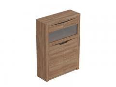 Шкаф 2 дверный гостиная Соренто Дуб стирлинг ШхВхГ 1070х1500х385 мм