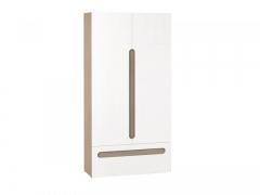 Шкаф 2-х створчатый с ящиком Палермо Юниор Эко