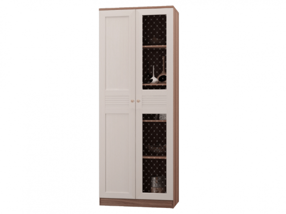 Шкаф для книг с 2 дверками Лестер