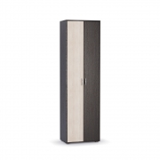 Шкаф для одежды Глория 102 Венге-Дуб паллада ШхВхГ 604х2070х356 мм