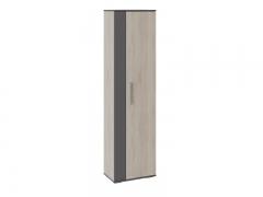Шкаф для одежды Нуар Фон серый-Дуб сонома