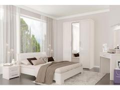 Спальня Камелия Matrix Бодега белая