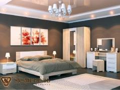 Спальня Лагуна-2 Белый глянец Дополнительная комплектация