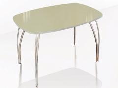 Стол обеденный Агат венге-лакобель ваниль