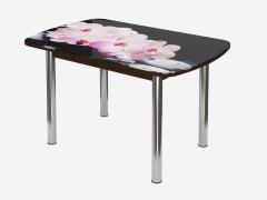 Стол овальный Бостон Брифинг Розовая Орхидея
