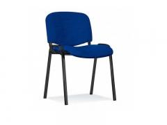 Стул офисный Iso black S6 ткань синяя