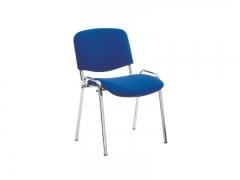Стул офисный Iso chrome S6 ткань синяя